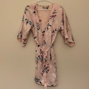 Blush Pink Light Robe